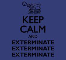 Dalek Keep Calm & Exterminate... Unisex T-Shirt