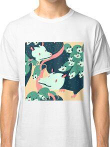 Seamless Possum Pattern Classic T-Shirt