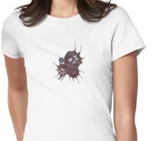 S20130526 - Scribbled Dragon Mask Womens Fitted T-Shirt