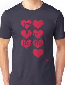 7 of Hearts - T-shirt 3.0 Unisex T-Shirt