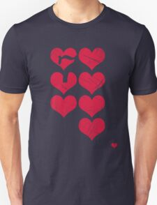 7 of Hearts - T-shirt 3.5 Unisex T-Shirt