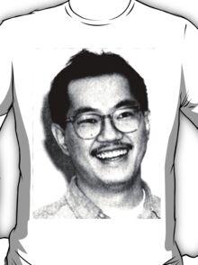 AKIRA TORIYAMA Portrait Design T-Shirt