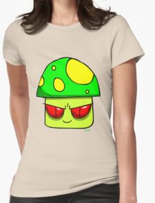 Super Shroom Womens Fitted T-Shirt