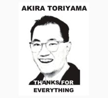 Akira Toriyama -Praise Design by SUPERSCREAMERS