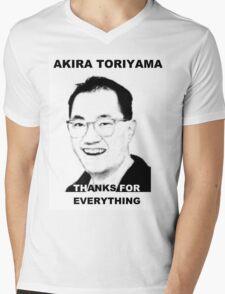 Akira Toriyama -Praise Design Mens V-Neck T-Shirt