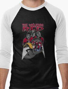 The Walking Red (Color Variant) Men's Baseball ¾ T-Shirt