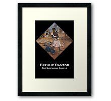 Erzulie Dantor  Framed Print