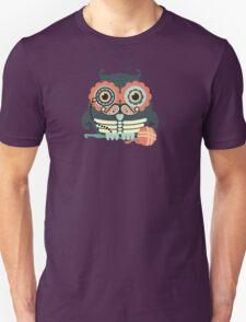 crochet hook owl paisley mustache steampunk skeleton Unisex T-Shirt