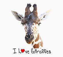 Adorable Giraffe Portrait T-Shirt
