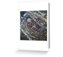 Baba Yaga Canvas Print Greeting Card