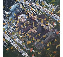 Baba Yaga Canvas Print Photographic Print