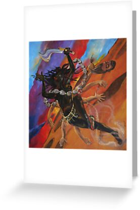 Kali Canvas Print by Henriott