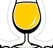 Wheat Beer Tulip Sticker