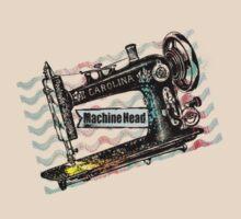 Vintage grunge sewing machine rickrack machine head by BigMRanch