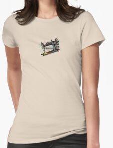 Vintage grunge sewing machine rickrack machine head T-Shirt