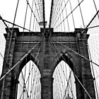 The Brooklyn Bridge by Nicole Hass