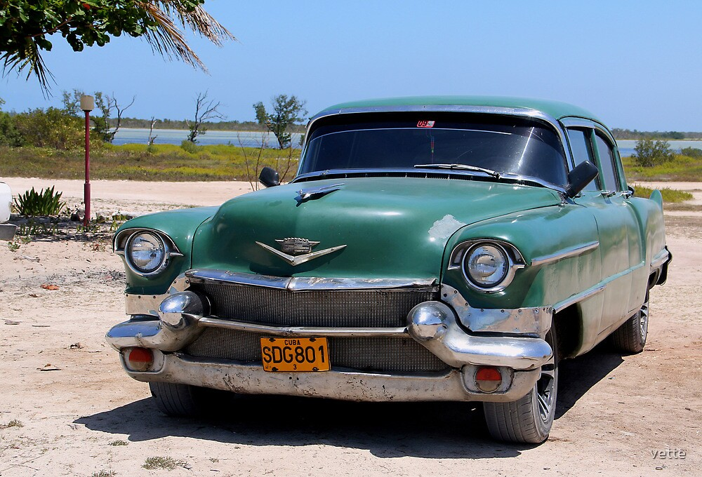 1950's Cadillac in Cuba by vette