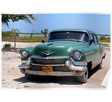 1950's Cadillac in Cuba Poster