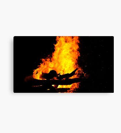 Bonfire Canvas Print