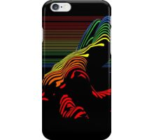 Rainbow woman iPhone Case/Skin