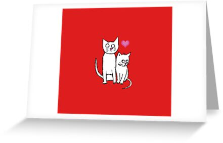 THE LOVE CATS by Jane Newland