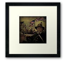 Memorial Day, A Tribute to the Keystone Battery of Pennsylvania Framed Print