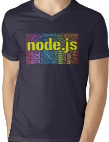 Node.js Development T-shirt & Hoodie Mens V-Neck T-Shirt
