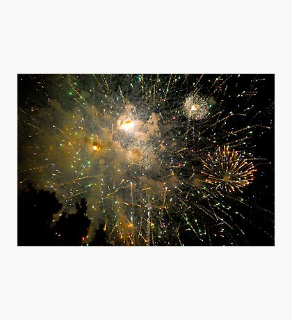 Fireworks - Fourth of July Photographic Print