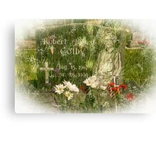 In Memory (Silence) Canvas Print