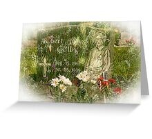 In Memory (Silence) Greeting Card