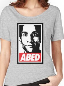 OBEY ABED, COOL? Women's Relaxed Fit T-Shirt