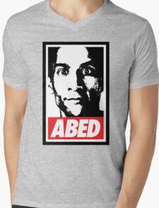 OBEY ABED, COOL? Mens V-Neck T-Shirt