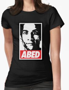 OBEY ABED, COOL? Womens Fitted T-Shirt