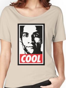 OBEY ABED, COOL? (variant) Women's Relaxed Fit T-Shirt
