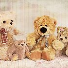 Sweet little teddybears by Katharina Hilmersson