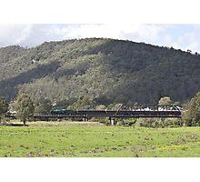 Steam Loco 3642 Paterson River, NSW Australia Photographic Print