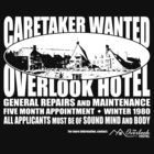Caretaker Wanted (White Print) by GritFX