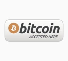 Bitcoin accepted here by isza