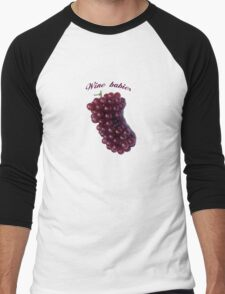 Wine babies Men's Baseball ¾ T-Shirt
