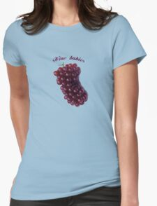 Wine babies Womens Fitted T-Shirt