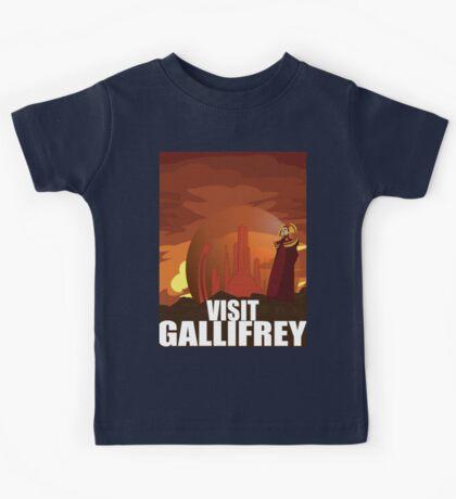 Visit Gallifrey Kids Tee