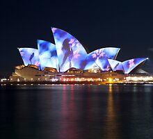 Opera House Vivid by Philip Mack