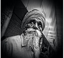 The beard Photographic Print