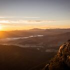 Sunrise over a sleepy valley by Rosie Appleton
