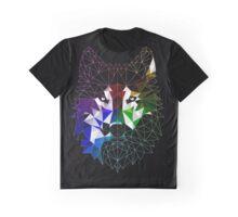 Geometric Wolf Graphic T-Shirt