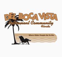 Del Boca Vista (Color Print) by GritFX