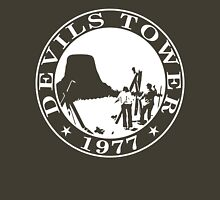 Devils Tower, 1977 (White Print) Unisex T-Shirt