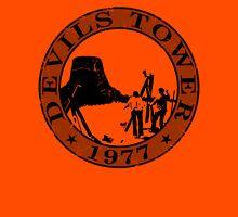 Devils Tower, 1977 (Grey Print) Unisex T-Shirt
