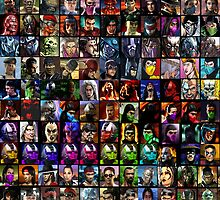 MK Character Select Screen by Kris Khael
