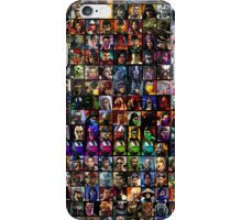 MK Character Select Screen iPhone Case/Skin